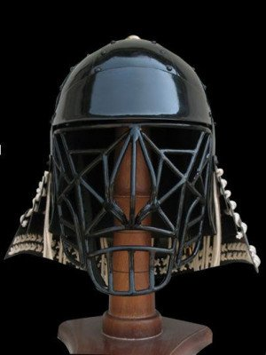 Japanese kabuto with bar grill Helmets