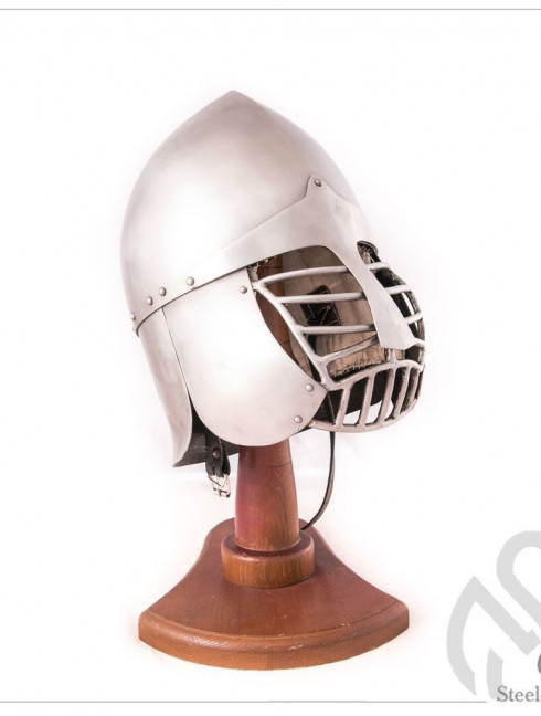 Phrygian helm with bar grid and full neck protection Helmets