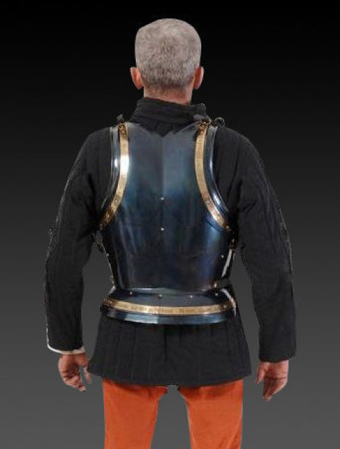 Cuirass in Italian stylistics of second part 15 century Cuirasses, breastplates and gorgets