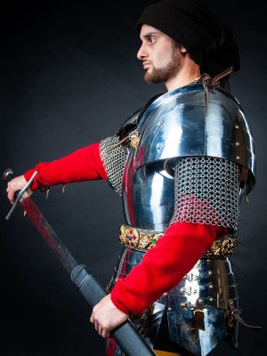 Milanese cuirass with the skirt and tassets - 1460 year