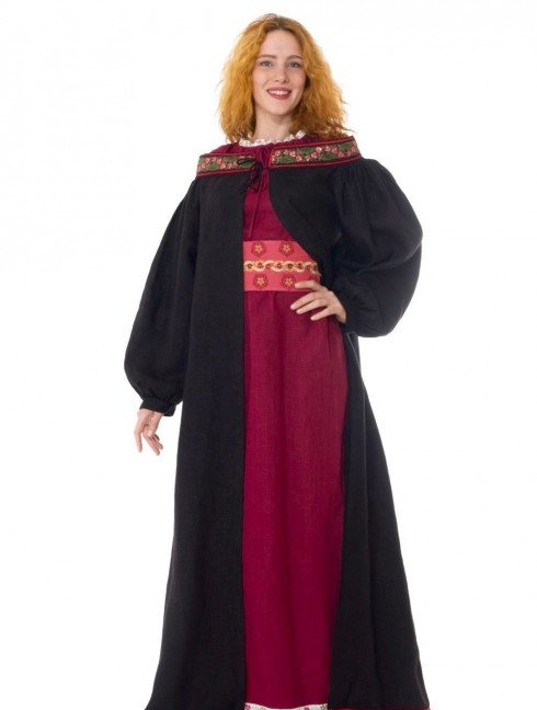 Coat with open shoulders Cloaks and capes