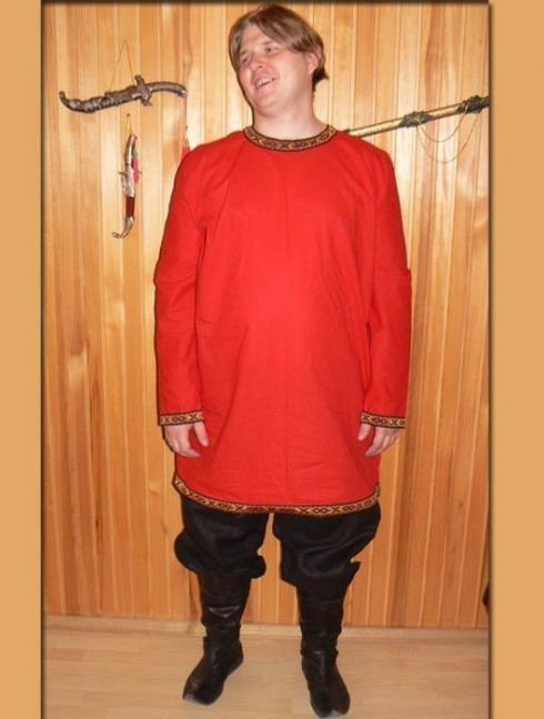 Early Medieval men s costume