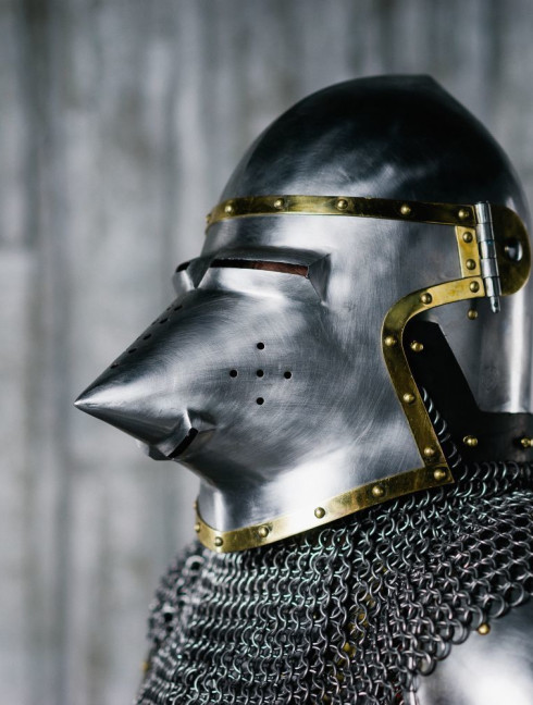 Armour of the XIV century in Churburg style Full armour