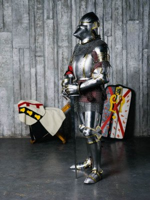Armour of the XIV century in Churburg style