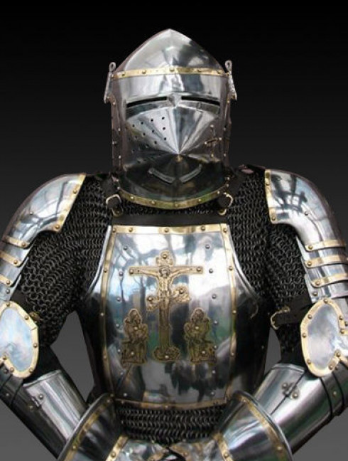 Full plate armour in Churburg style - 14th century