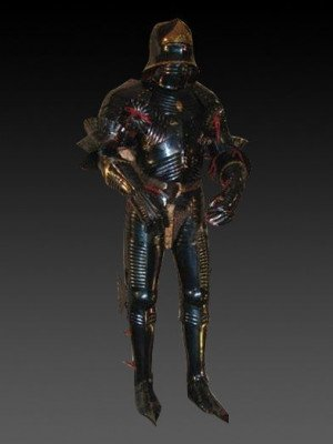 German full plate armour for dismounted and mounted action, 15th century