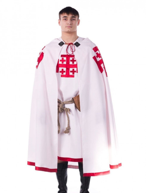 Costume of Knight of the Holy Sepulchre of Jerusalem