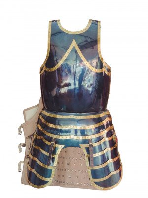 English breastplate with skirt and tassets (16 century) Cuirasses, breastplates and gorgets