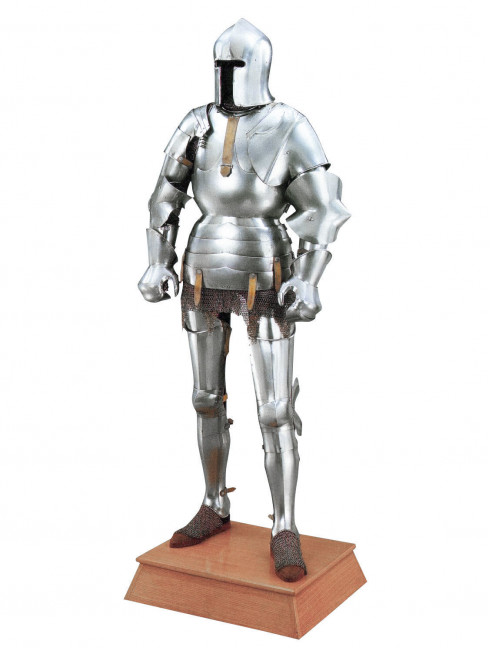 Milan-style full plate armour 1450-1485 years