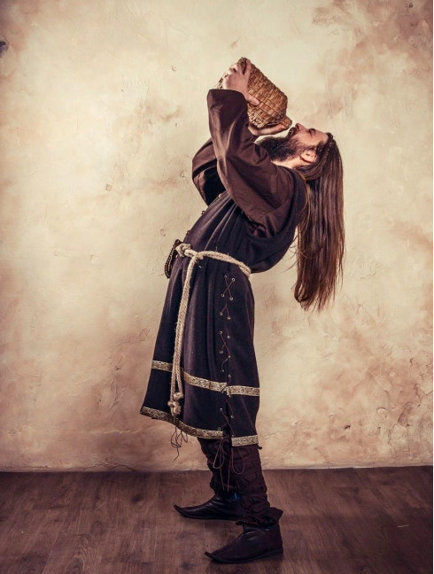 """Cotta, a part of fantasy-style costume """"Dwarf"""""""