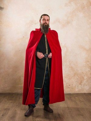 Medieval cloak with hood Cloaks and capes
