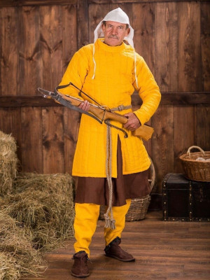 Gambeson of crossbowman of the XII-XIII centuries Gambesons