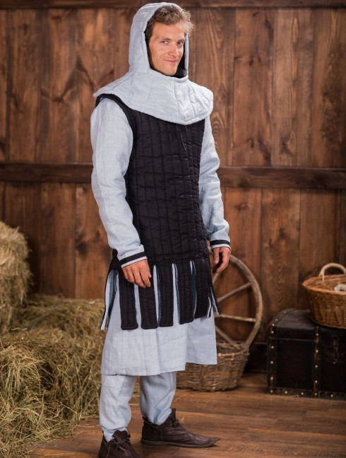 Sleeveless gambeson with festoons, XII-XIII centuries Gambesons