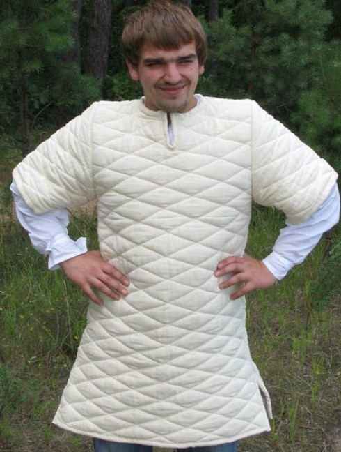 Early medieval gambeson VI-XIII centuries Gambesons
