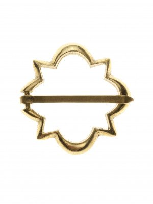 Medieval decorative fibula of western Europe Brooches and fasteners