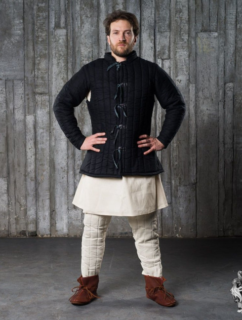 Medieval gambeson and cotton Eastern Pants Padded armour sets