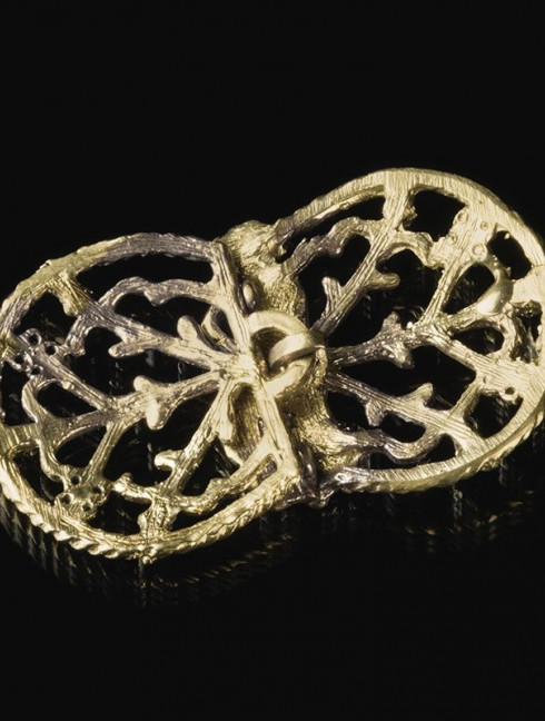 Medieval cape clasps, XIV century Brooches and fasteners