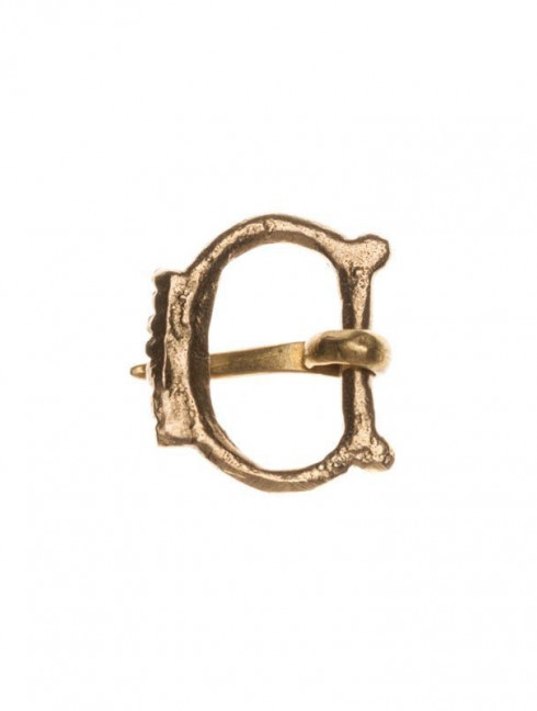 Medieval buckle, 1100-1500s Cast buckles