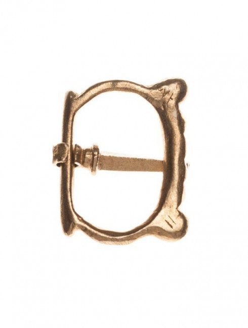 Medieval English buckle, 1200-1500s Cast buckles
