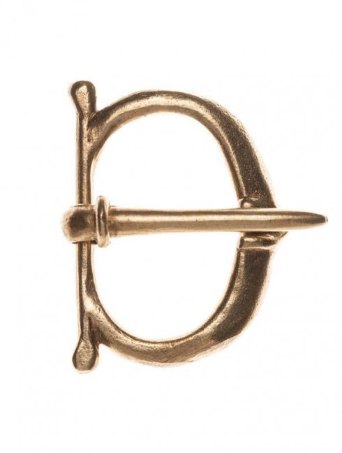 Medieval buckle, 1300-1500s Cast buckles