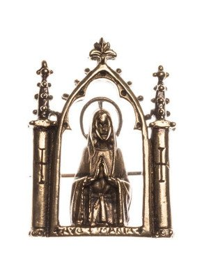 """Medieval badge  """"Ave Maria"""""""