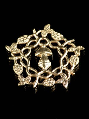 """Medieval badge """"Braiding branches"""""""
