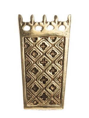 Medieval strapend of the Western Europe, XIV-XV centuries Strapends