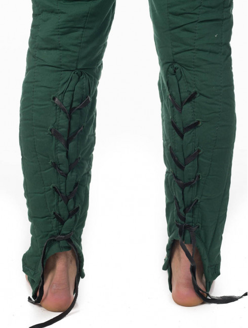 Padded chausses - 1 layer padding Ready padded armour