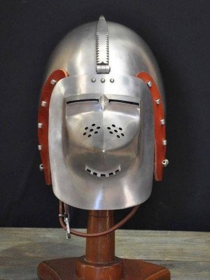 Bascinet of 1380-1410 years, from Higgins Armoury Museum Ready to ship