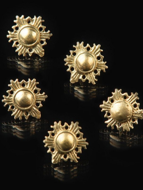 Medieval Swedish button, 13 mm Buttons, hooks, pins