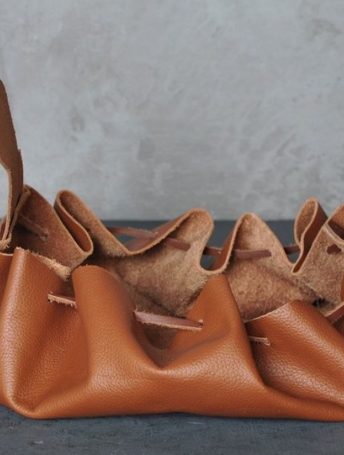 Soft leather pouch Bags