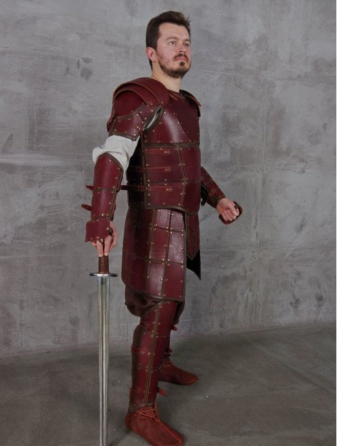 Leather armour in style of Game of Thrones Leather armour