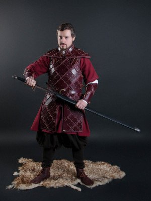Set of leather armour in style of Jon Snow