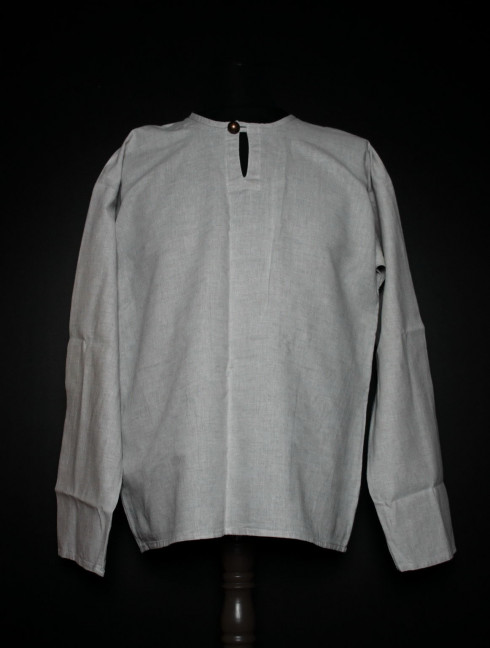 Men's undershirt with button Ready to ship
