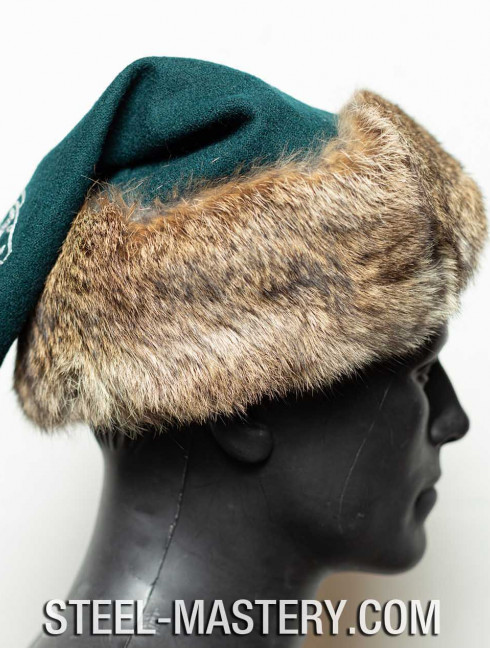 Viking hat with emroidery Headwear