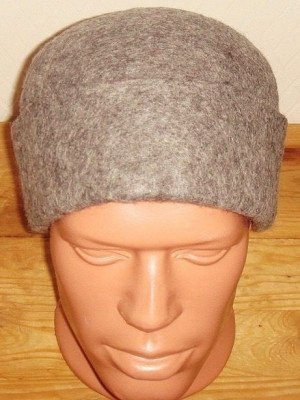 Scandinavia fulled hat with fold