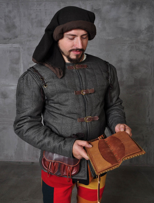 Medieval epoch doublet in Renaissance style Ready padded armour