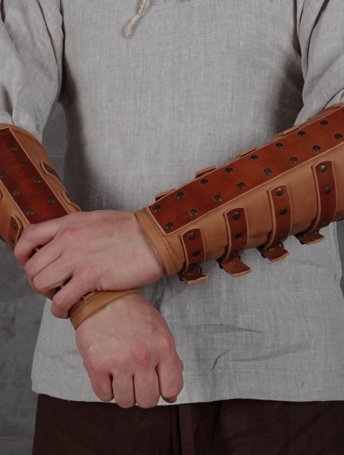 Spider leather bracers Arms