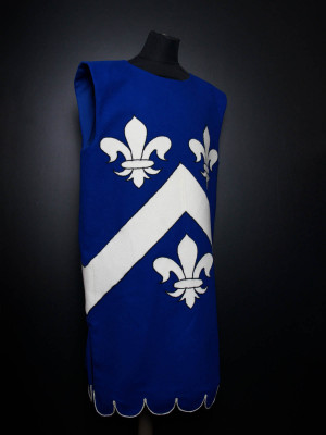 Tabard with French lilies (Fleur-de-lis)