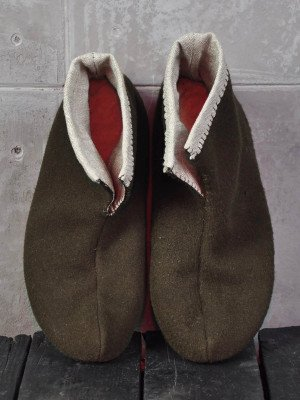 Woolen shoes for home Foot