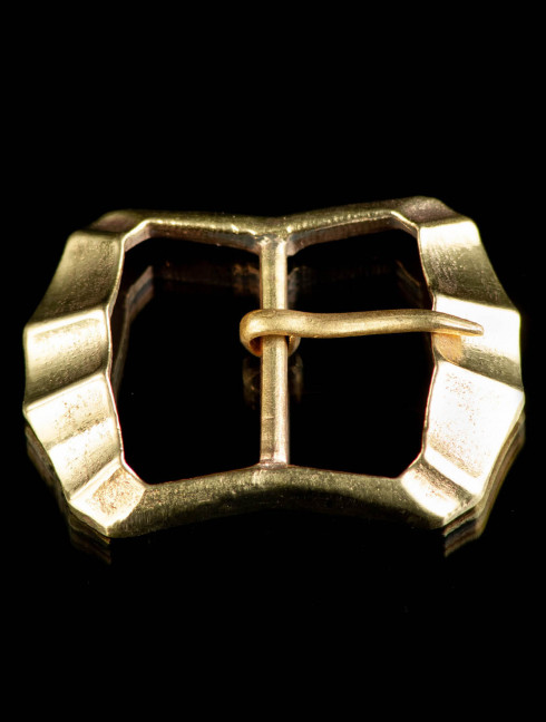 Medieval fluted buckle, XIV-XVI centuries Cast buckles