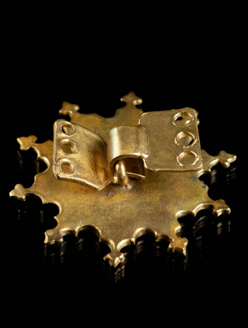 Medieval fastener for cloak, XIII-XV centuries Brooches and fasteners