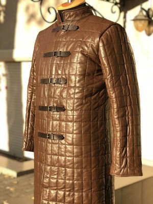 JOHN SNOW LEATHER GAMBESON