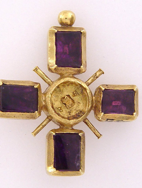 Cross pendant from British Museum Brooches and fasteners