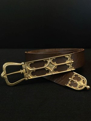 Belt with Gothic patterns, 15th century Belts