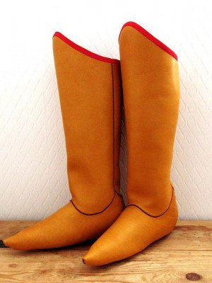 Steppe boots