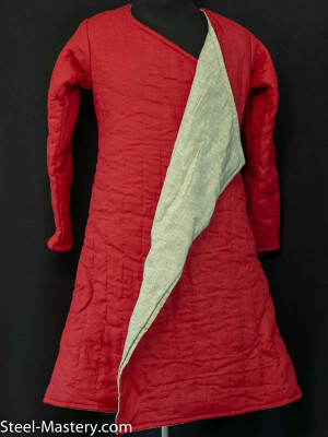 GAMBESON WITH NON-SEWN STRAPS