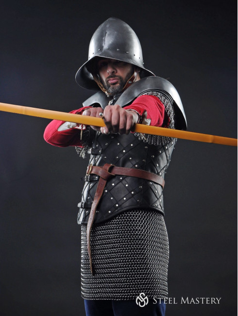 English longbowman – a soldier of fortune Full armour