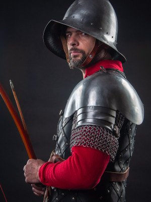 English longbowman – a soldier of fortune