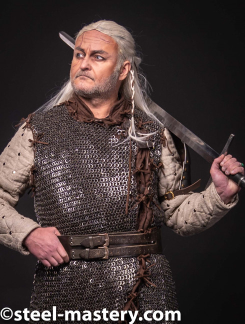 Witcher chainmail armor Gambeson